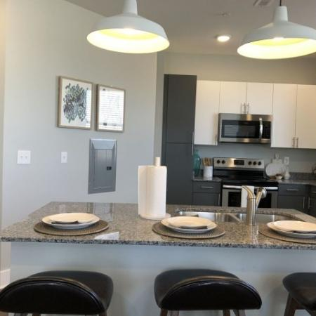 Spacious Kitchen   1,2,3 Bedroom apartments Plainfield IN   Echo Park at Perry Crossing