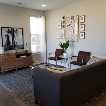 Elegant Living Room   1,2,3 Bedroom apartments Plainfield IN   Echo Park at Perry Crossing