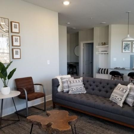 Luxurious Living Room   Luxury Apartments In Plainfield Indiana   Echo Park at Perry Crossing