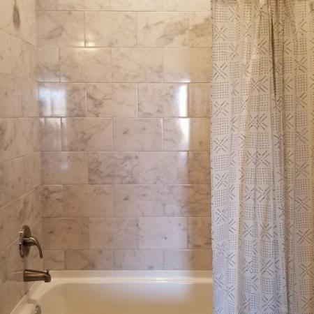 Elegant Master Bathroom   Luxury Apartments In Plainfield Indiana   Echo Park at Perry Crossing