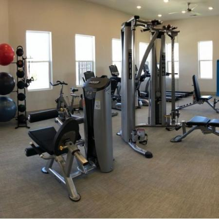 State-of-the-Art Fitness Center   Luxury Apartments In Plainfield Indiana   Echo Park at Perry Crossing