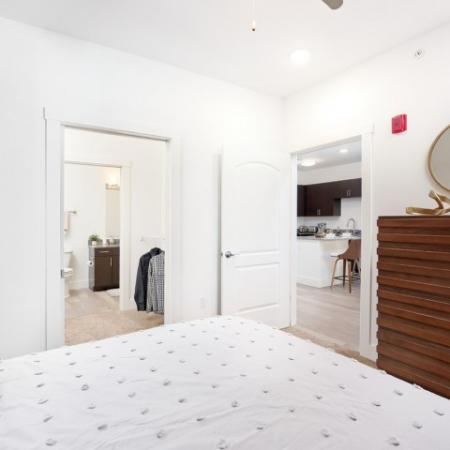 Residents in the Bathroom | Bloomington IN Apartments | Echo Park-Bloomington