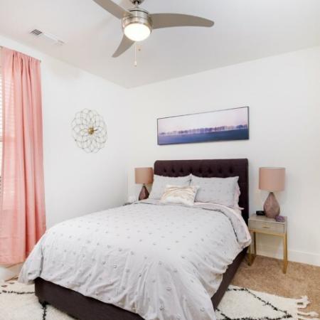 Luxurious Bedroom | Luxury Apartments Bloomington IN | Echo Park-Bloomington