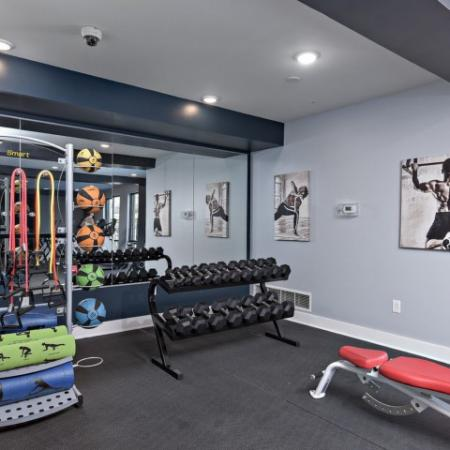 State-of-the-Art Fitness Center | Bloomington IN Apartments | Echo Park-Bloomington
