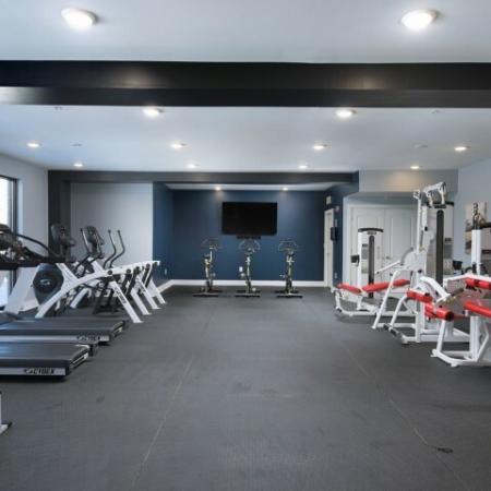 Community Fitness Center | Luxury Apartments Bloomington IN | Echo Park-Bloomington