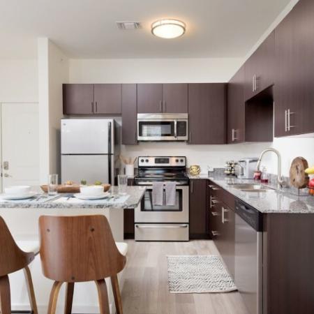 State-of-the-Art Kitchen | Bloomington Luxury Rentals | Echo Park-Bloomington