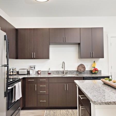 Modern Kitchen | Apartments Bloomington IN | Echo Park-Bloomington