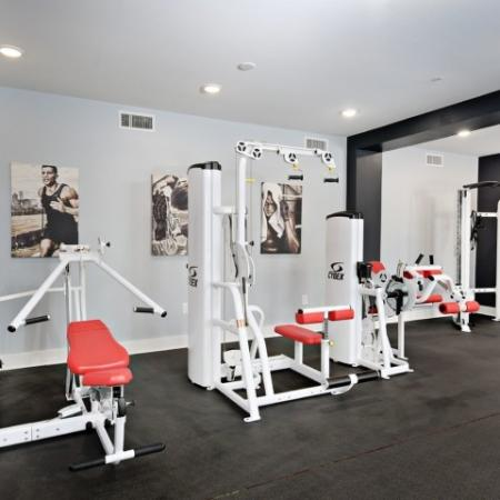 Resident Fitness Center | Apartments Bloomington IN | Echo Park-Bloomington