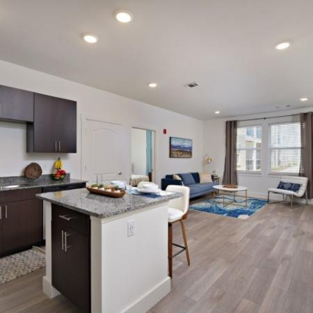 Spacious Kitchen | 1,2,3 Bedroom Apartments Bloomington IN | Echo Park-Bloomington