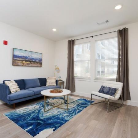 Spacious Living Room | Luxury Apartments Bloomington IN | Echo Park-Bloomington
