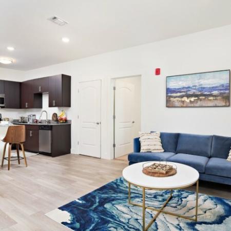 Luxurious Living Room | Bloomington IN Apartments | Echo Park-Bloomington