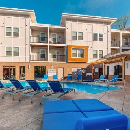 Sparkling Pool | 1,2,3 Bedroom Apartments Bloomington IN | Echo Park-Bloomington