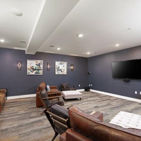 Resident Media Room | Bloomington Luxury Rentals | Echo Park-Bloomington