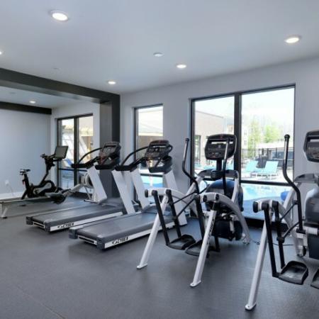 Cutting Edge Fitness Center | Bloomington Luxury Rentals | Echo Park-Bloomington