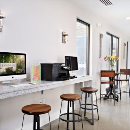 Resident Business Center | Apartments Bloomington IN | Echo Park-Bloomington