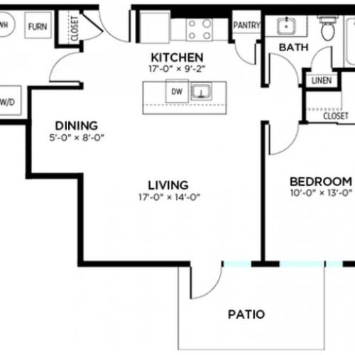 New Jersey - 1 Bed, 1 Bath