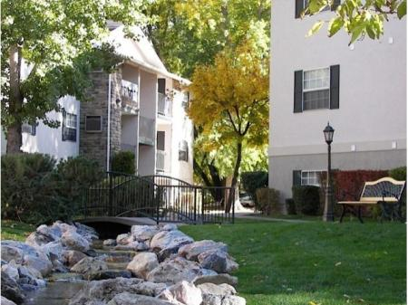 Landscaping at Raintree Commons Apartments