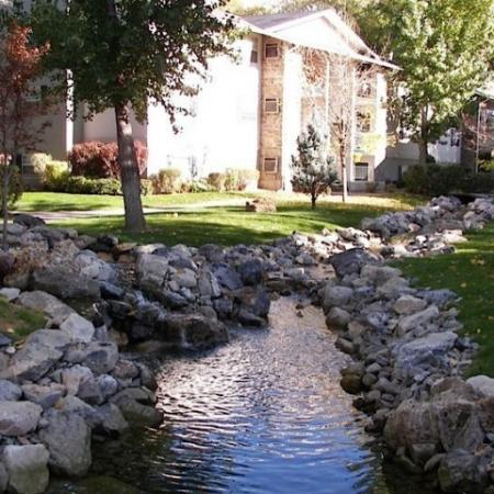 Stream at Raintree Commons Apartments