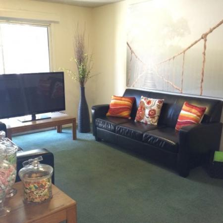 Spacious Living Area | Raintree Commons Apartments