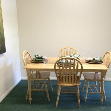 Elegant Dining Room | Raintree Commons Apartments