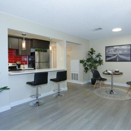 Modern Kitchen | Luxury Apartments | The Point on Flamingo