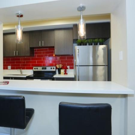 Elegant Kitchen | Las Vegas Luxury Apartments | The Point on Flamingo