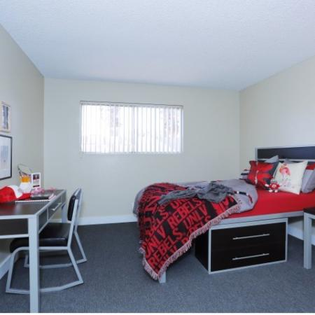 Spacious Master Bedroom | Luxury Apartments Near UNLV | The Point on Flamingo