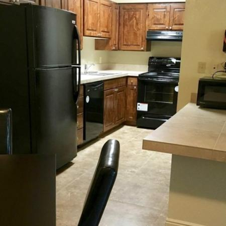 Spacious Kitchen Area | Raintree Commons Apartments | Apartments in Provo UT