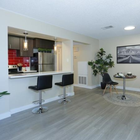 Spacious Kitchen Area | Luxury Apartments Near UNLV | The Point on Flamingo