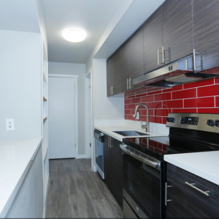 Kitchen Backsplash | Luxury Apartments Near UNLV | The Point on Flamingo