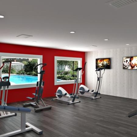 Resident Fitness Center | Apartments For Rent In Las Vegas | The Point on Flamingo