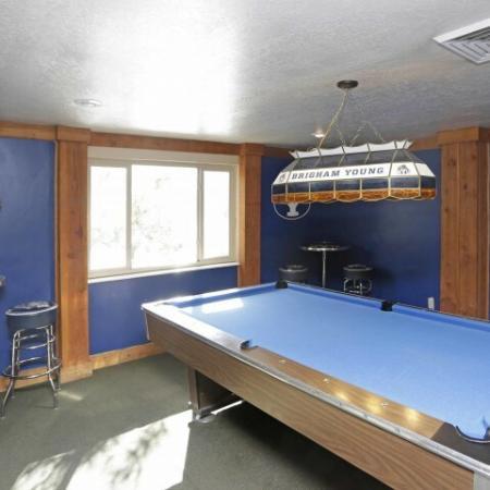 Billiards | BYU Student Apartments