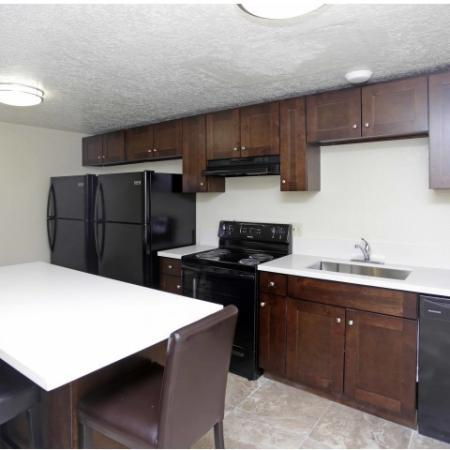 State-of-the-Art Kitchen | Byu Apartments In Provo | The Lodges at Glenwood