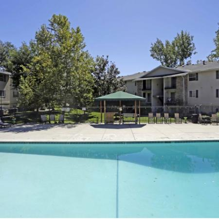 Sparkling Pool | Raintree Commons Apartments | Apartments in Provo UT