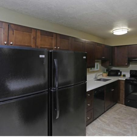 Modern Kitchen | Byu Off Campus Apartments | Raintree Commons