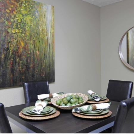 Luxurious Dining Room | Byu Apartments In Provo | Raintree Commons