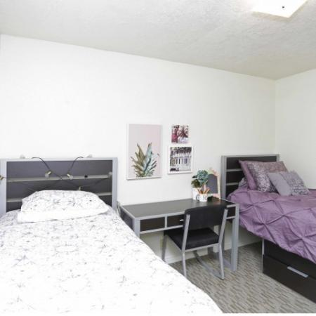 Luxurious Bedroom | Byu Off Campus Housing | Raintree Commons