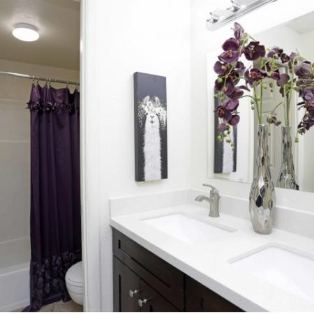 Ornate Bathroom | Byu Off Campus Housing | Raintree Commons