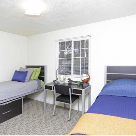 Spacious Bedroom | Byu Student Housing Provo | Raintree Commons