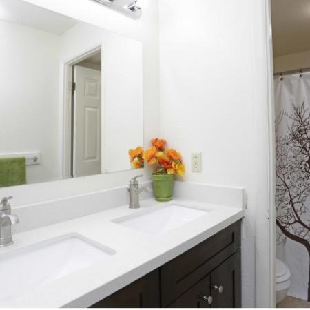 Spacious Bathroom | Byu Off Campus Apartments | Raintree Commons