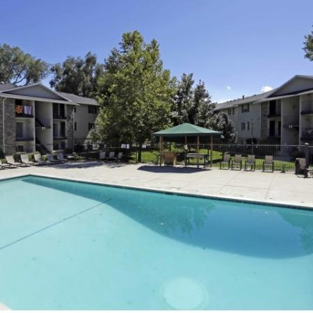 Sparkling Pool | Off Campus Housing Byu | Raintree Commons