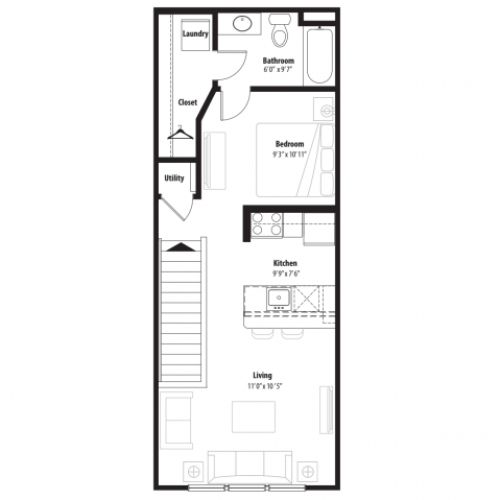 A 2D Drawing Of The S2 Floor Plan