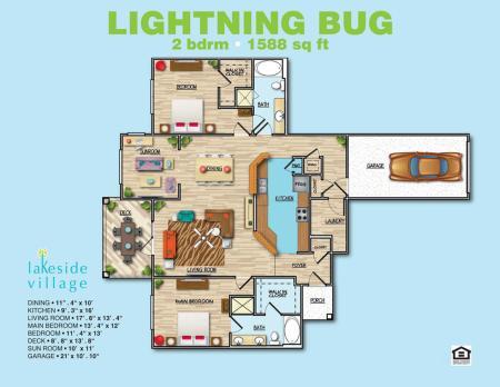 Lightening Bug 2x2