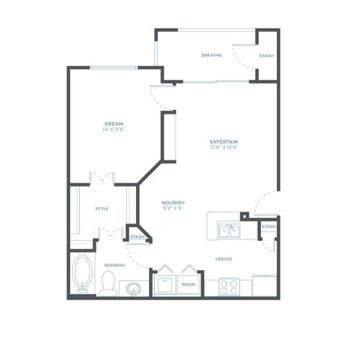 Sawgrass WF Floorplan