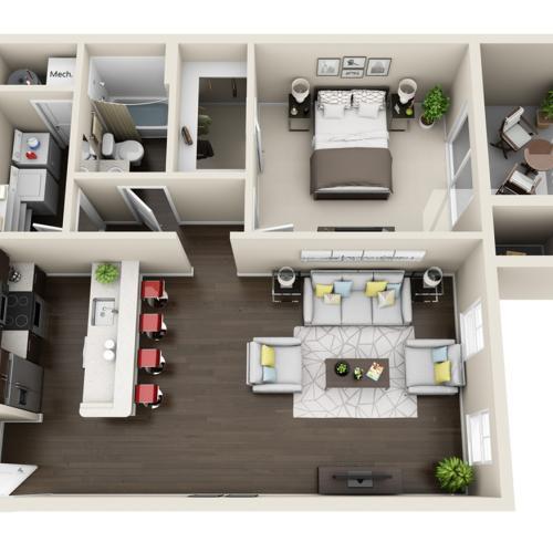 Aqua Floor Plan