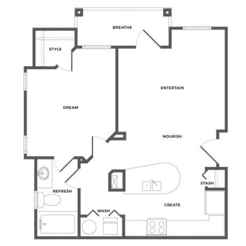 Carriage House Floor Plan