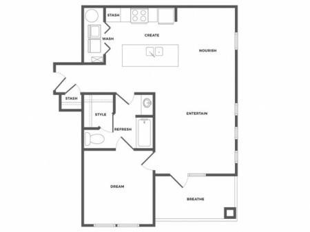Bayview Luxe Floor Plan