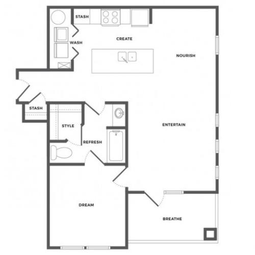 Bayview Luxe Floor Plan