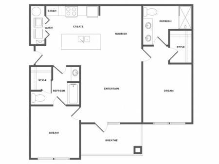 Cypress Floor Plan