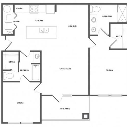 Cypress Floor Plan